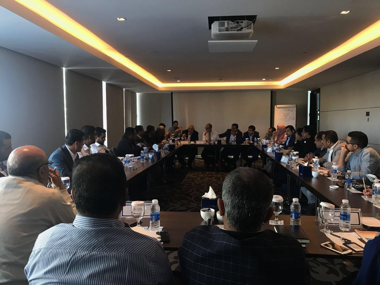 Consultation workshops with representatives of the private sector, youth and civil society