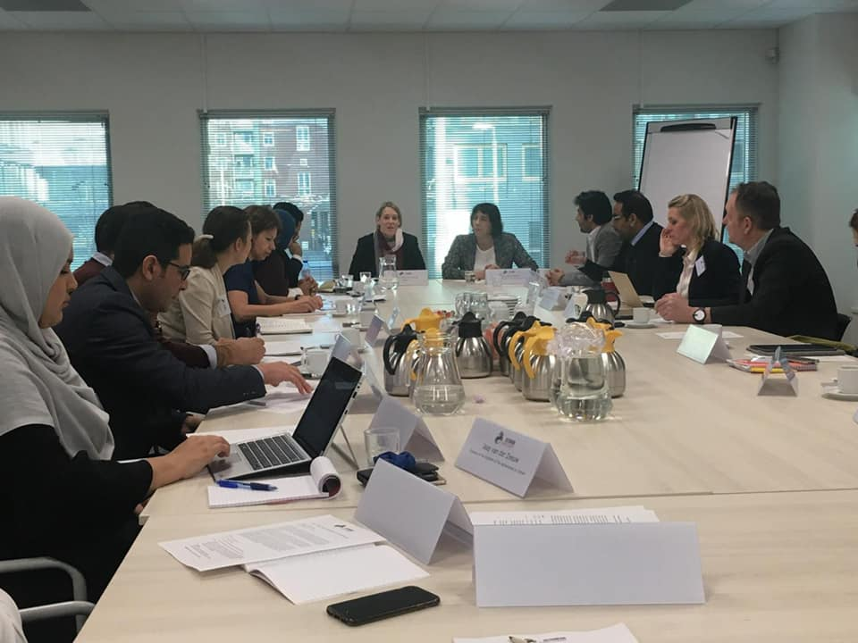 Development Champions Hold Policy Briefings at The Hague